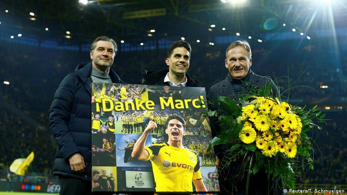 Abschied Marc Bartra vom BVB