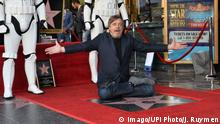 Los Angeles Mark Hamill bekommt Stern auf dem Hollywood Walk of Fame