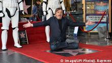 Los Angeles Mark Hamill bekommt Stern auf dem Hollywood Walk of Fame