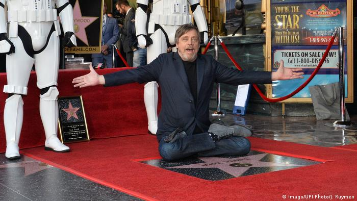 Los Angeles Mark Hamill bekommt Stern auf dem Hollywood Walk of Fame (Imago/UPI Photo/J. Ruymen)