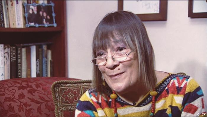 Mary Quant seen in a 2018 Interview on the occassion of her 85th birthday