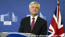 Großbritannien EU David Davis