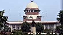 NEW DELHI, INDIA - FEBRUARY 12: A view of Supreme Court building on February 12, 2018 in New Delhi, India. The Supreme Court has restrained the Jammu and Kashmir Police from taking any coercive steps against Army officers including Major Aditya Kumar, who have been made an accused in the Shopian firing case in which three civilians were killed. (Photo by Sonu Mehta/Hindustan Times ) Shopian Firing: Supreme Court Stays FIR Against Major Aditya Kumar PUBLICATIONxNOTxINxIND