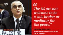 Conflict Zone Ibrahim Khraishi palästinensischer UN Botschaft