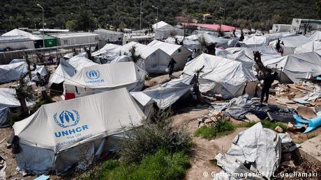 Moria camp in Greece (Getty Images/AFP/L. Gouliamaki)