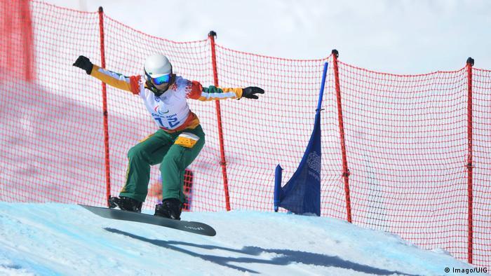 Athleten Winter-Paralympics 2018 Joany Badenhorst (Imago/UIG)