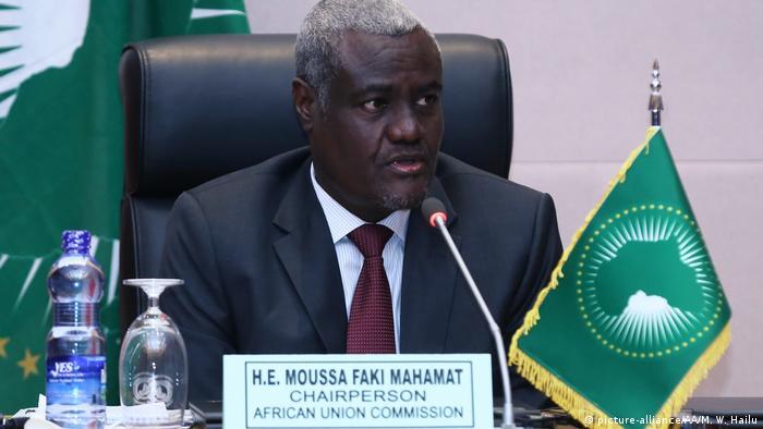 AU Chairman Moussa Faki