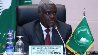 Le président de la Commission de l'Union africaine, Moussa Faki Mahamat a regretté le manque de solidarité envers les Etats du Sahel