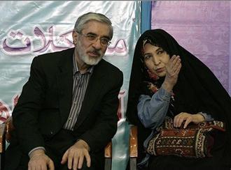 زهرا رهنورد، همسر میرحسین موسوی نیز همراه وی در حصر خانگی است
