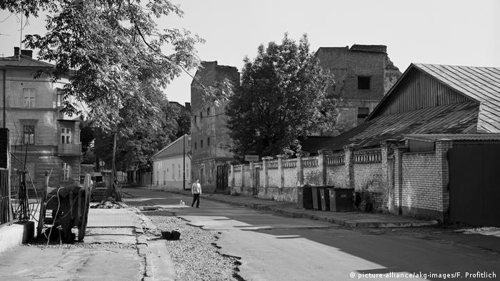 Еврейское гетто во Львове. Фото 1942 года