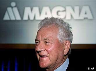 Глава концерна Magna Франк Штронах