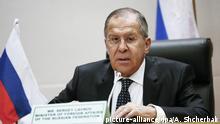 Sergei Lawrow russischer Außenminister