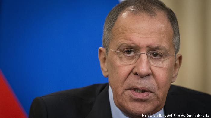 Russian Foreign Minister Sergey Lavrov (picture-alliance/AP Photo/A. Zemlianichenko)