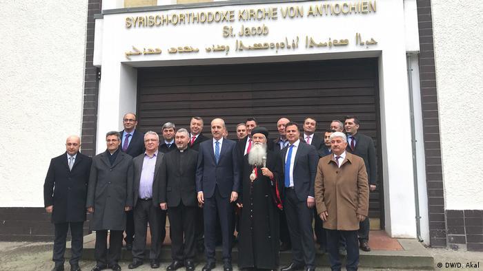 Almanya'da yaşayan Süryaniler Ankara'dan destek istedi