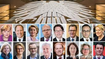 Deutschland Das zukünftige Bundeskabinett (picture-alliance/dpa)