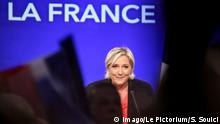 07.05.2017 - Marine Le Pen defeat on second turn - 07/05/2017 - France / Paris - The candidate of the National Front was brutally beaten by Emmanuel Macron, but nonetheless welcomed a historic and massive result in his favor in the second round of the presidential election. PUBLICATIONxINxGERxSUIxAUTxONLY SadakxSouicix/xLexPictorium LePictorium_0157871 Navy Le Pen Defeat ON Second Turn 07 05 2017 France Paris The Candidate of The National Front what brutally Beaten by Emmanuel Macron but nonetheless WELCOMED a Historic and Massive Result in His favor in The Second Round of The Presidential ELECTION PUBLICATIONxINxGERxSUIxAUTxONLY SadakxSouicix xLexPictorium LePictorium_0157871