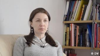 Оппозиционный депутат Вера Леонова