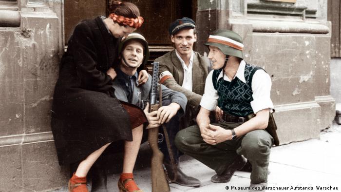 Pripadnici Varšavskog ustanka