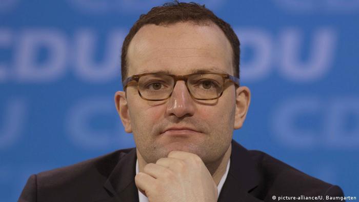 Ministrul german al Sănătății, Jens Spahn (CDU) (picture-alliance/U. Baumgarten)