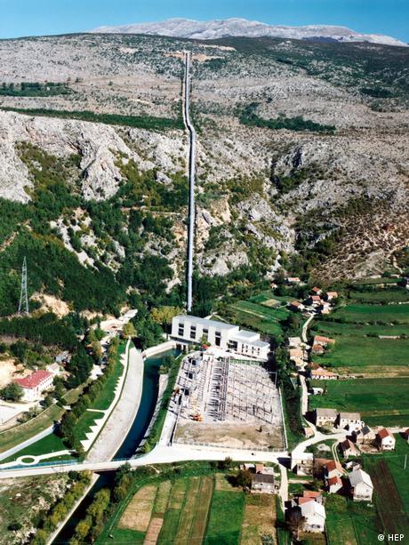 Wasserkraftwerk Orlovac