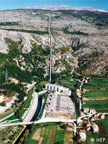 Wasserkraftwerk Orlovac (HEP)