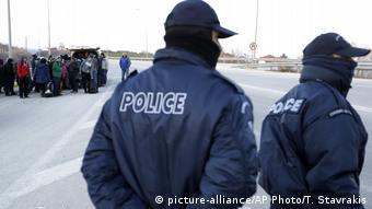 Αστυνομικοί στα σύνορα Ελλάδας - Τουρκίας