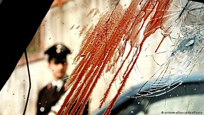 Mjesto zločina okršaja mafijaša u Napulju 1998.