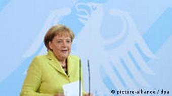 Merkel (Foto:dpa)