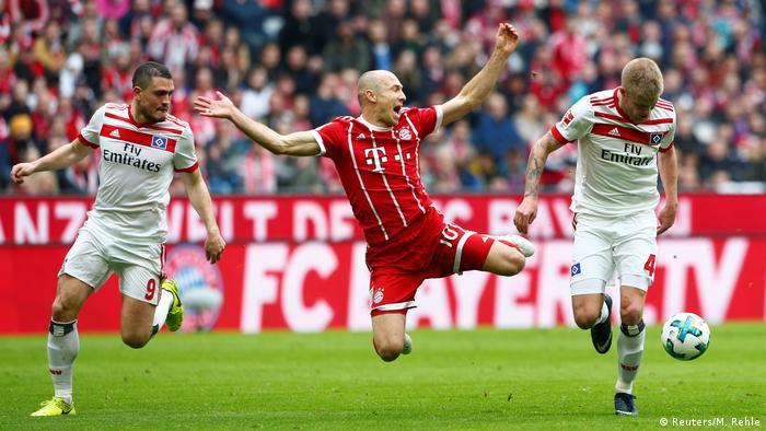 Bundesliga - Bayern München gegen Hamburger SV