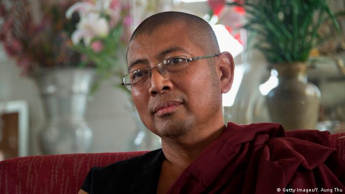 Parmaukkha, an ultra-nationalist Buddhist monk in Myanmar