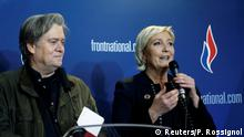 Parteitag Front National in Lille Steve Bannon