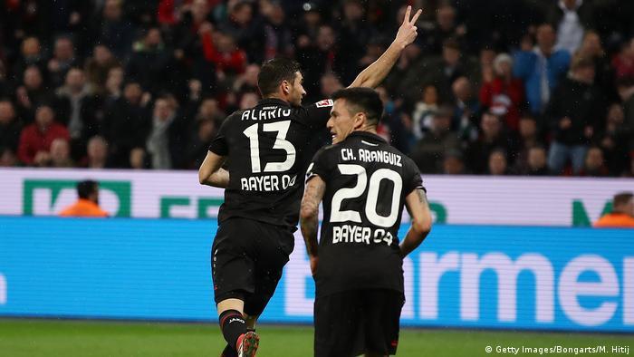 Fußball Bundesliga Bayer 04 Leverkusen Borussia Mönchengladbach (Getty Images/Bongarts/M. Hitij)