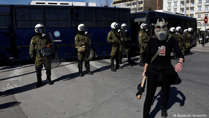 Demonstration in Thessaloniki (Reuters/A. Avramidis)