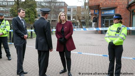 UK Home Secretary Amber Rudd (picture-alliance/empics/A. Matthews)