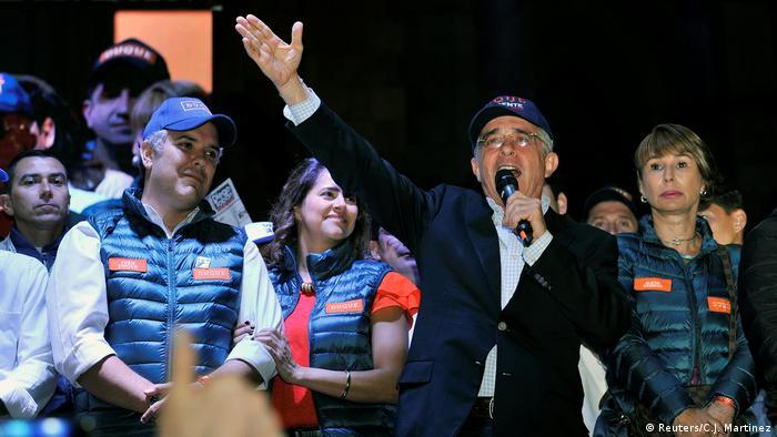 Ex-Präsident Álvaro Uribe von der rechten Partei Centro Democrático (Foto: Reuters/C.J. Martinez)