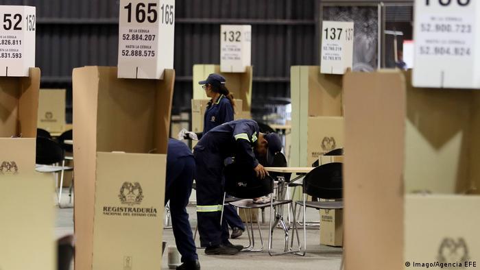 Kolumbien Wahl Vorbereitungen (Imago/Agencia EFE)