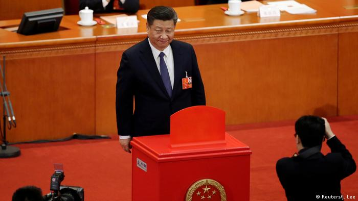 China Nationaler Volkskongress 2018 in Peking | Präsident Xi Jinping