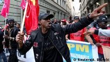 Italien Protest gegen Rassismus in Florenz