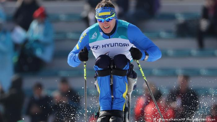 Südkorea Maksym Yarovyi in Pyeongchang (picture-alliance/AP Photo/Ng Han Guan)