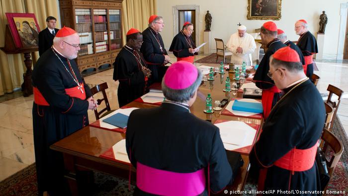 Встреча кардиналов, занимающихся реформированием церкви