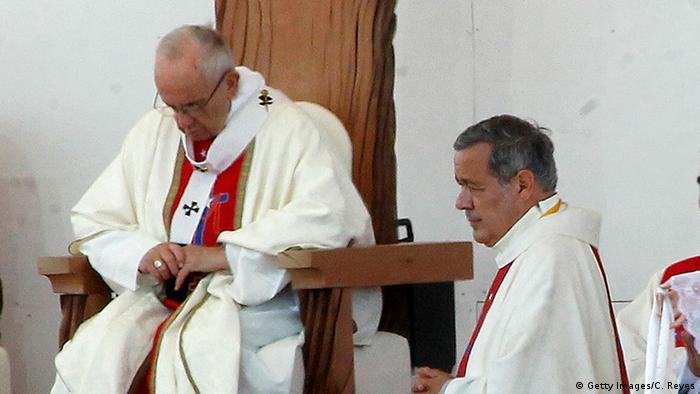 Папа Франциск и Хуан Баррос