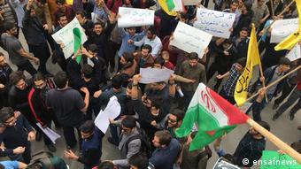 تجمع مخالفان حرکت اعتراضی ظهر یکشنبه در دانشگاه پلی تکنیک