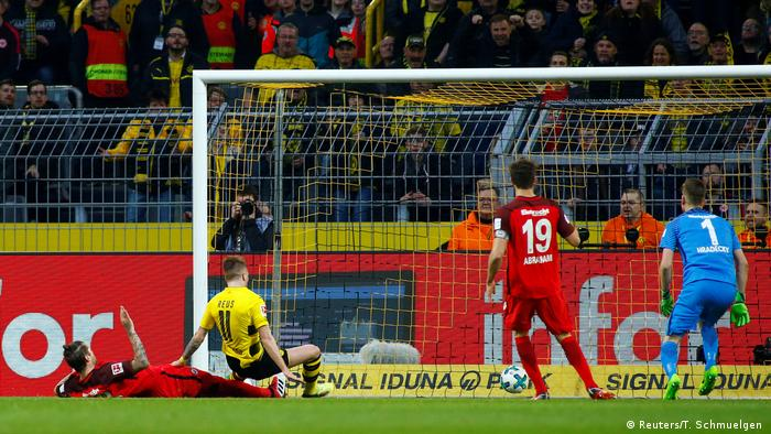 Bundesliga Borussia Dortmund Eintracht Frankfurt (Reuters/T. Schmuelgen )