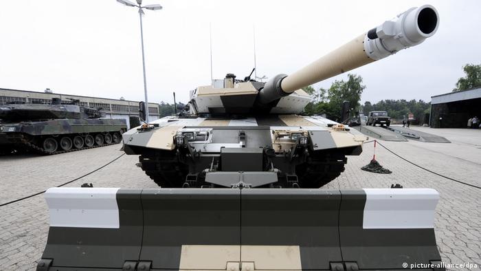 Panzer Leopard für Saudi-Arabien? (picture-alliance/dpa)