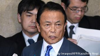 Japan Finanzminister Taro Aso (Getty Images/AFP/Kazuhiro Nogi)