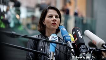 Foto de política verde alemã Annalena Baerbock