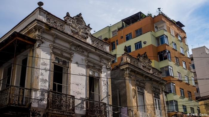 Colonial-type houses in Rio (DW/S. Derks)