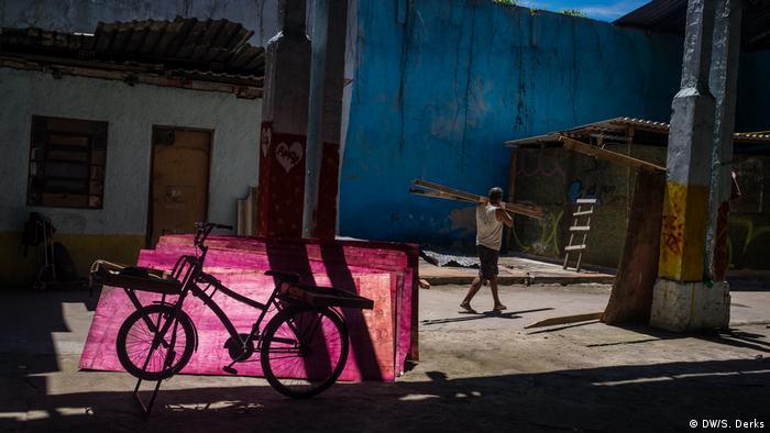 A housing initiative in Rio de Janeiro (DW/S. Derks)
