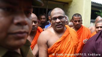 Sri Lanka Prozess Galagodaatte Gnanasara, buddhistischer Mönch