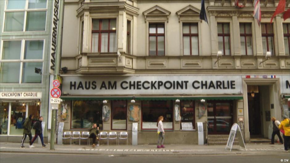 Das Mauermuseum Haus Am Checkpoint Charlie Euromaxx Leben Und Kultur In Europa Dw 12 03 2018